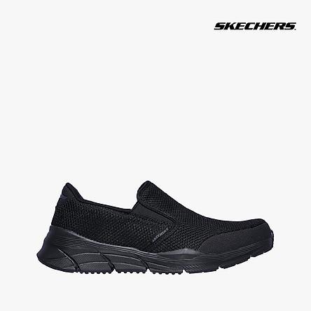 SKECHERS - Giày slip on nam Relaxed Fit Equalizer 4.0 Krimlin 232018-BBK