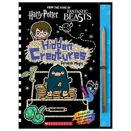 Wizarding World: Hidden Creatures Scratch Magic (J.K. Rowling's Wizarding World) (Harry Potter)
