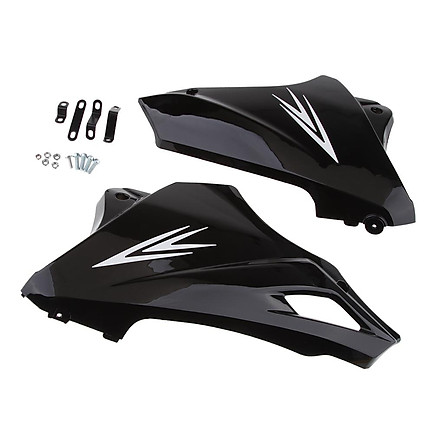 Black under Engine Lower Cowl Shrouds Belly Pan for  Grom MSX 125 13-15