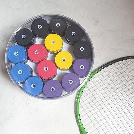 Cuốn cán vợt cầu lông, tennis V-SPV08 hộp 60 cuộn nhiều màu