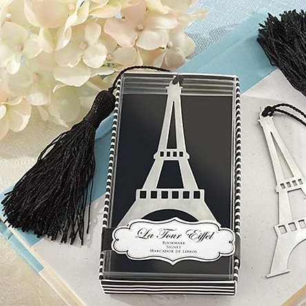 Đánh Dấu Sách Bookmark Kim Loại Tháp Eiffel