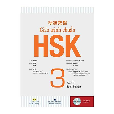 Giáo Trình HSK 3 - Sách Bài Tập (Kèm MP3)
