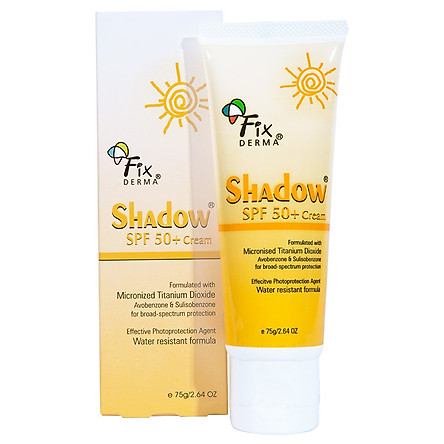 Kem chống nắng Fixderma Shadow SPF 50+ Cream (75g)