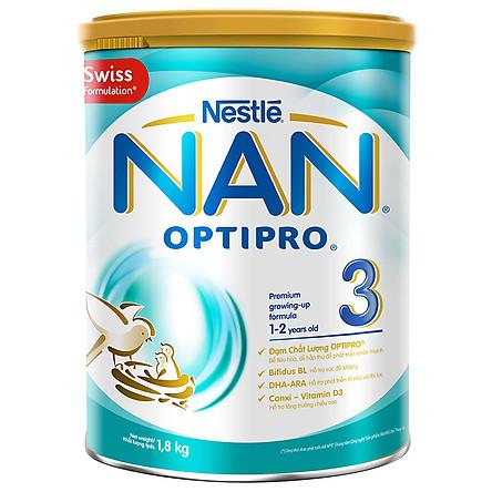 Sữa Bột Nestlé Nan Optipro 3 (1.8 Kg)