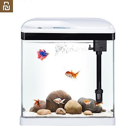 Bộ bể cá để bàn bằng kính trong suốt Xiaomi Youpin SOBO Dung tích 15L