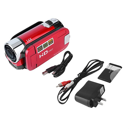 Digital Camera Hd100 Red + Us Standard