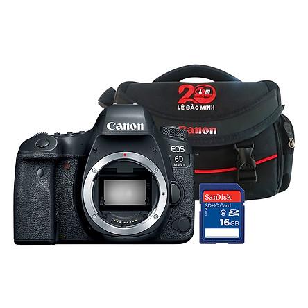 Máy Ảnh Canon EOS 6D MARK II Body - Hàng Chính Hãng - Tặng Kèm Thẻ Nhớ Và Túi Đựng Máy Ảnh