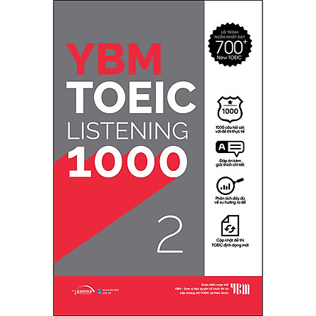YBM Actual Toeic Tests LC 1000 - Vol 2