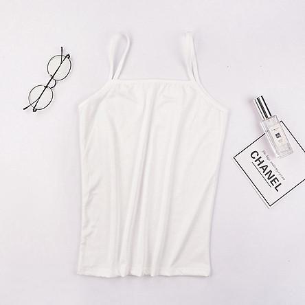 Áo 2 dây nhỏ vừa vặn dễ phối đồ thời trang cho nữ