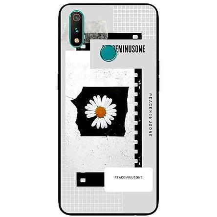 Ốp Lưng in cho Realme 3 Pro Mẫu Hoa Cúc Nền Giấy 5 - Hàng Chính Hãng