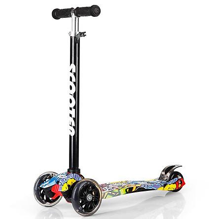 Xe Trượt Scooter Graffiti Cao Cấp 3 Bánh RE0454