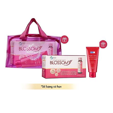 Bộ Sản Phẩm Bổ Sung Collagen Blossomy Lốc 10 Phiên Bản Đặc Biệt Tiki