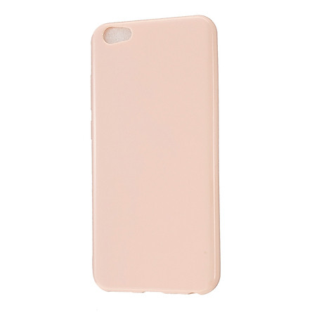 For VIVO Y67/Y71 Cellphone Cover Glossy TPU Phone Case Anti-Dust Stain-proof Easy Install Screen Protector