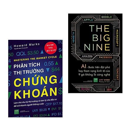 Combo Sách Kỹ Năng Làm Giàu: Phân Tích Thị Trường Chứng Khoán + The Big Nine (Bộ 2 Cuốn Sách Được Chuyên Gia Khuyên Đọc Nhiều Nhất)