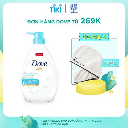Sữa Tắm Dưỡng Ẩm Dịu Mát Dove Aqua Moisture (900g)