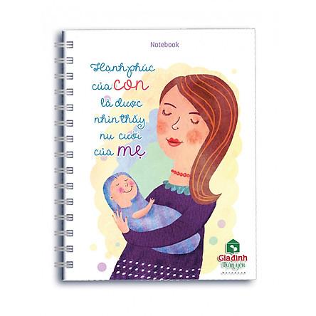 Sổ Lò Xo Notebook Minh Long - Hạnh Phúc Của Con
