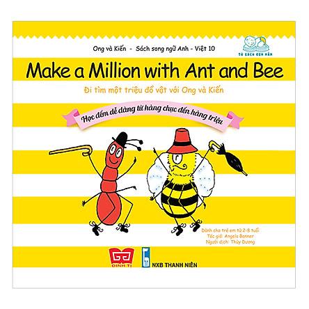 Nhân Bản Của Ong Và Kiến 10 - Make A Million With Ant And Bee - Đi Tìm Một Triệu Đồ Vật Với Ong Và Kiến - Học Đếm Dễ Dàng Từ Hàng Chục Đến Hàng Triệu