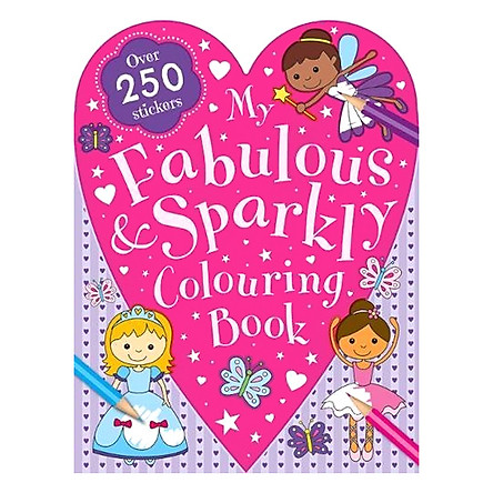 Sách tô màu My Fabulous and Sparkly Colouring Book