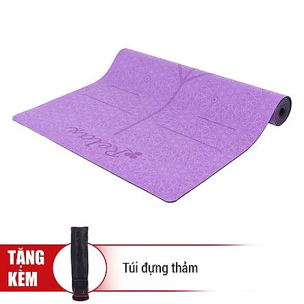 Thảm Tập Yoga Định Tuyến Sportslink Tặng Kèm Túi DINHTUYEN - Tím