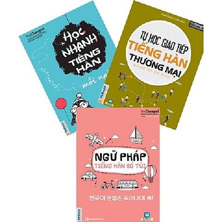 3 Cuốn Sách Tự Học Tiếng Hàn Hiệu Qủa Cho Người Đi Làm (tặng BooksMark)