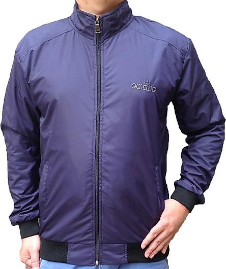 Áo khoác nam cơ bản 2 lớp, hiệu GOKING, vải dù ấm áp, cản gió hiệu quả, thích hợp đông và thu đông