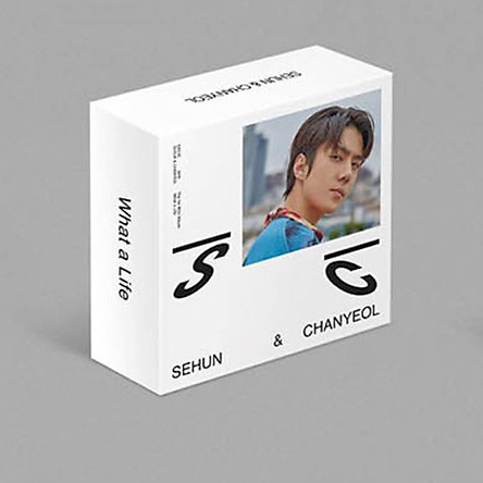 EXO-SC What A Life 1st Mini Album KHINO Ver KHINO+Booklet+Card+Etc
