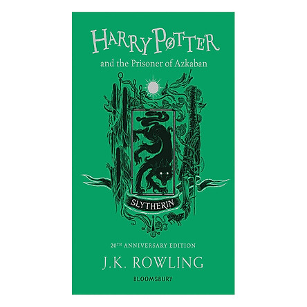 Harry Potter and the Prisoner of Azkaban (Slytherin Edition Paperback) (English Book)