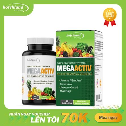 Thực phẩm chức năng bổ sung vitamin tổng hợp MegaActiv