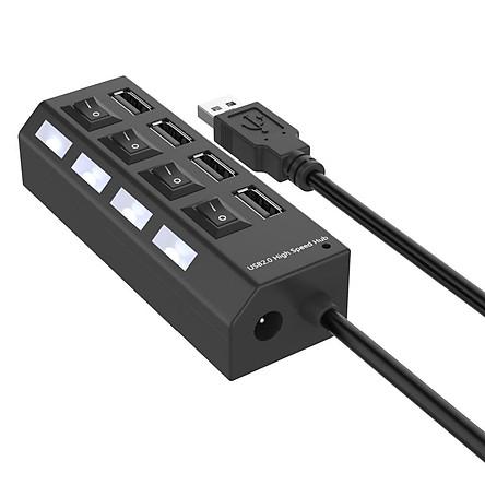 Bộ Chia Tín Hiệu HUB 4 Cổng Micro USB 2.0 Cho Máy Tính Bảng/Máy Tính Xách Tay/Notebooks