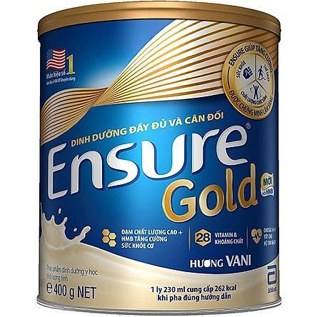 Sữa Bột Abbott Ensure Gold Hộp 400G