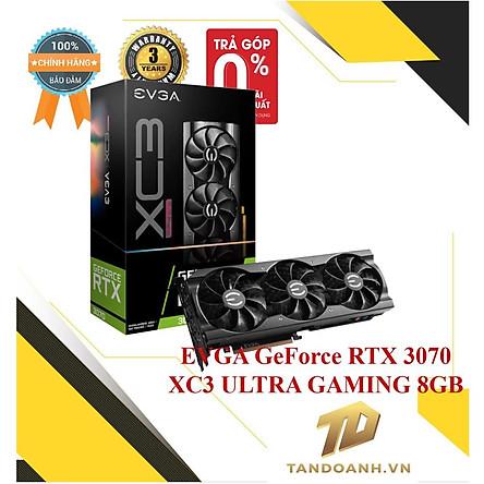 Card màn hình EVGA GeForce RTX 3070 XC3 ULTRA GAMING 8GB - HÀNG CHÍNH HÃNG