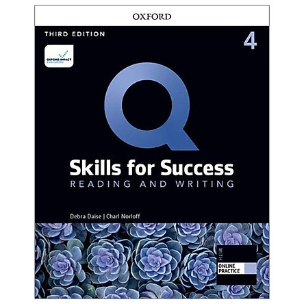 Q: Skills For Success: Level 4: Reading And Writing Student Book With iQ Online Practice - 3rd Edition