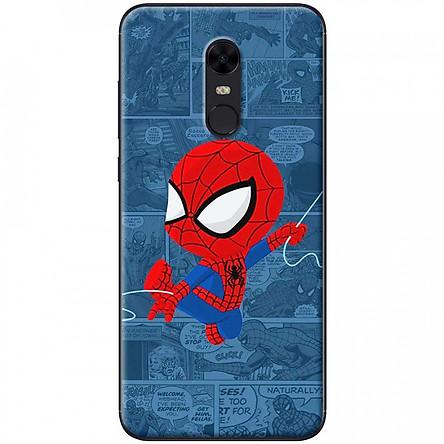 Ốp lưng dành cho Xiaomi Redmi 5 mẫu Người nhện truyện tranh