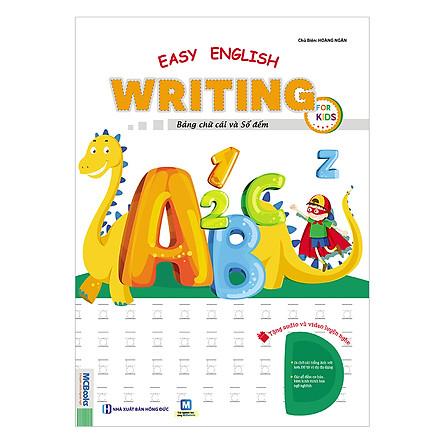 Easy English Writing For Kids Bảng Chữ Cái Và Số Đếm Cho Trẻ