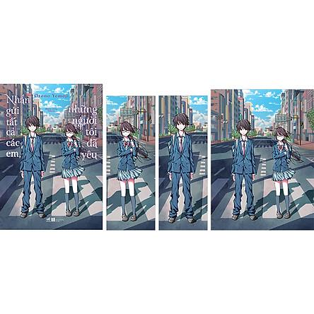 Nhắn Gửi Tất Cả Các Em, Những Người Tôi Đã Yêu - Quà Tặng: 2 Bookmark + 1 Postcard (Số Lượng Giới Hạn)