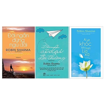 Combo Các Tác Phẩm Của Robin Sharma (3 Cuốn)