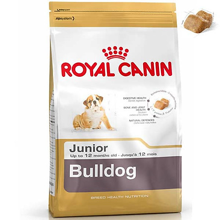 Thức ăn Royal Canin Bulldog Junior 3kg