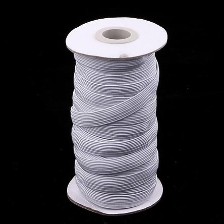 Dây Thun Trắng Co Giãn Quần áo DIY Quần Thể Thao Quần May Trim 10 Mm