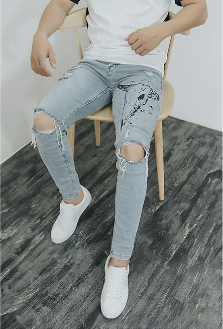 Quần Jean Nam Slimfit S6097
