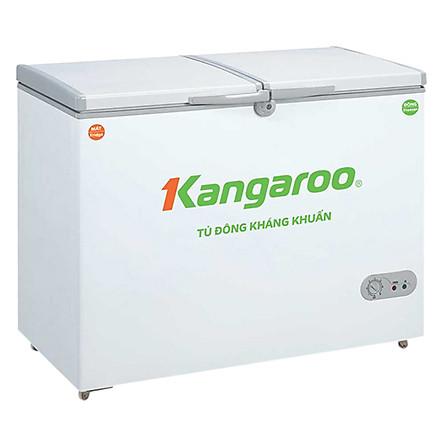 Tủ Đông Kháng Khuẩn Kangaroo KG388C1 (388L)-Hàng chính hãng