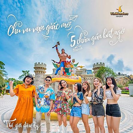 Vé VinWonders Phú Quốc - Khu Vui Chơi Giải Trí Hàng Đầu Đảo Ngọc