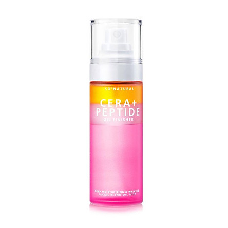 XỊT KHOÁNG 3 TẦNG SO'NATURAL CERA + PEPTIDE OIL FINISHER