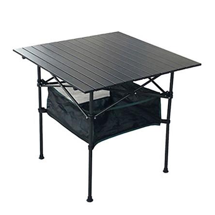 Bàn xếp ngoài trời di động hợp kim nhôm bàn ăn cắm trại bãi biển cắm trại khuyến mãi bàn đào tạo