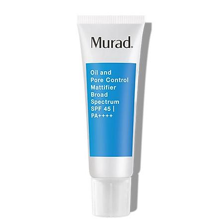 Kem dưỡng kiềm dầu và chống nắng Murad Oil and Pore Control Mattifier Broad Spectrum SPF 45 PA++++ (24ml)