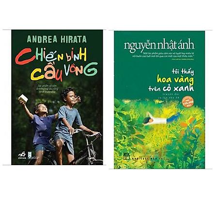 Combo 2 cuốn sách văn học bán chạy: Tôi Thấy Hoa Vàng Trên Cỏ Xanh + Chiến Binh Cầu Vồng (Top tác phẩm kinh điển xuất sắc)