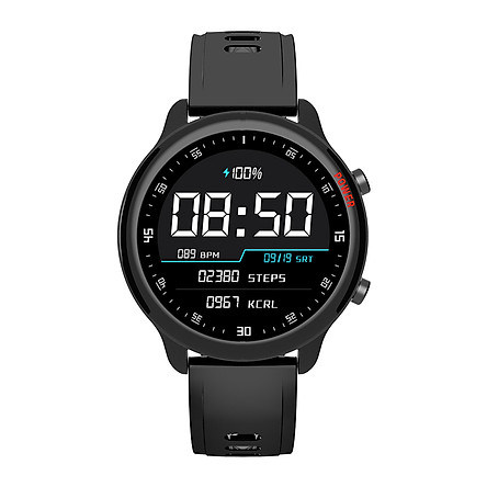 COLMI SKY4 Smart Watch 1.54 inch Full-Touch Color Screen Healthcare Sports Smart Watch Silicone Watch Band IP67