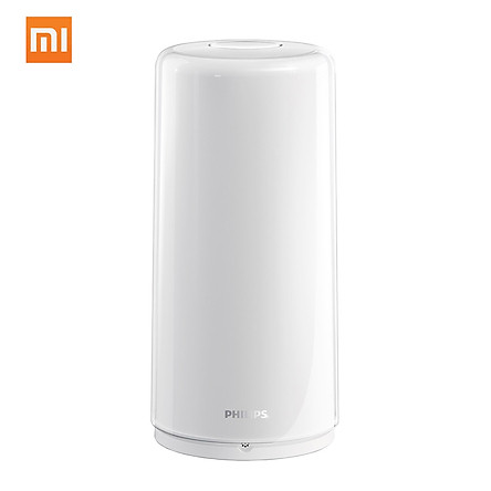 Xiaomi Mijia Philips Zhirui Bedside Lamp Dimmable Table Desk Lamps Portable Atmosphere Lighting Mi Home App Wifi - White