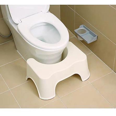 Ghế kê chân vệ sinh SQUATPRO Model 20120 Loại Lớn cao 21cm, giúp đi vệ sinh đúng chuẩn, kích thích cho đường tiêu hóa - Hàng chính hãng