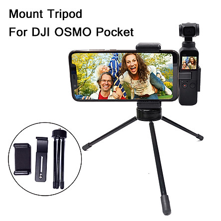 Foldable Tripod Bracket Phone Holder Clip For DJI Osmo Pocket Camera Sunnylife