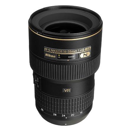 Ống Kính Nikon AF-S Nikkor 16-35mm F4 G ED VR - Hàng Nhập Khẩu